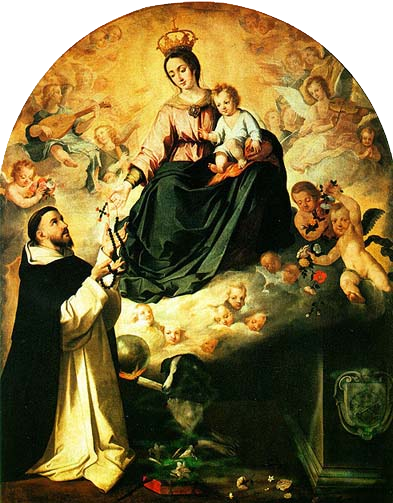 The 15 Promises Made by the Blessed Virgin to St. Dominic and Blessed Alanus