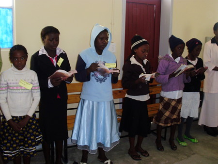 Universal Living Rosary Association Missionary Center, Namibia.